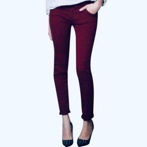 ZARA TRAFALUC Skinny Jeans Eggplant